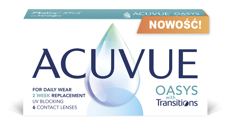 soczewki ACUVUE OASYS with Transtions