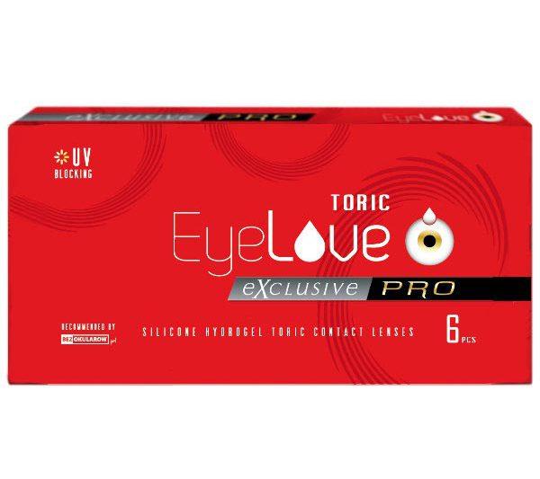 soczewki toryczne EyeLove Exclusive PRO Toric